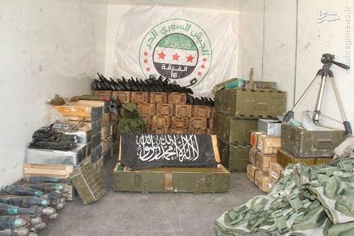 آغاز تسلیم گروهی تروریستها در حلب+عکس
