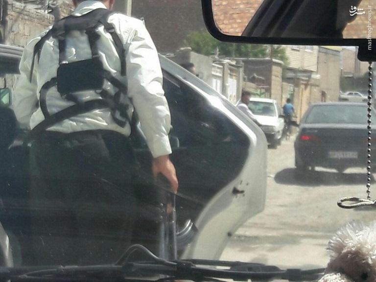 حمله مسلحانه به ماموران ناجا در بوکان +عکس