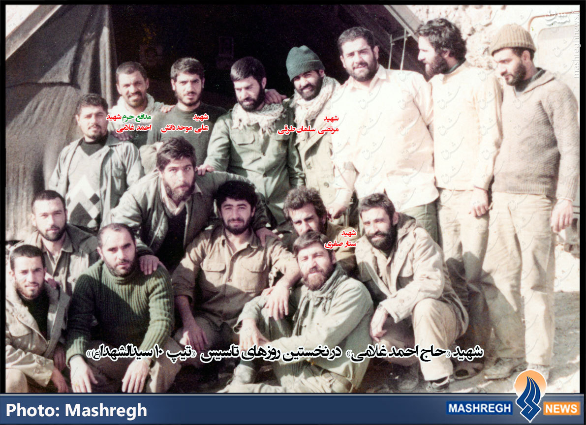 قائممقامِ «کاظم رستگار» در «حلب» رستگار شد+تصاویر