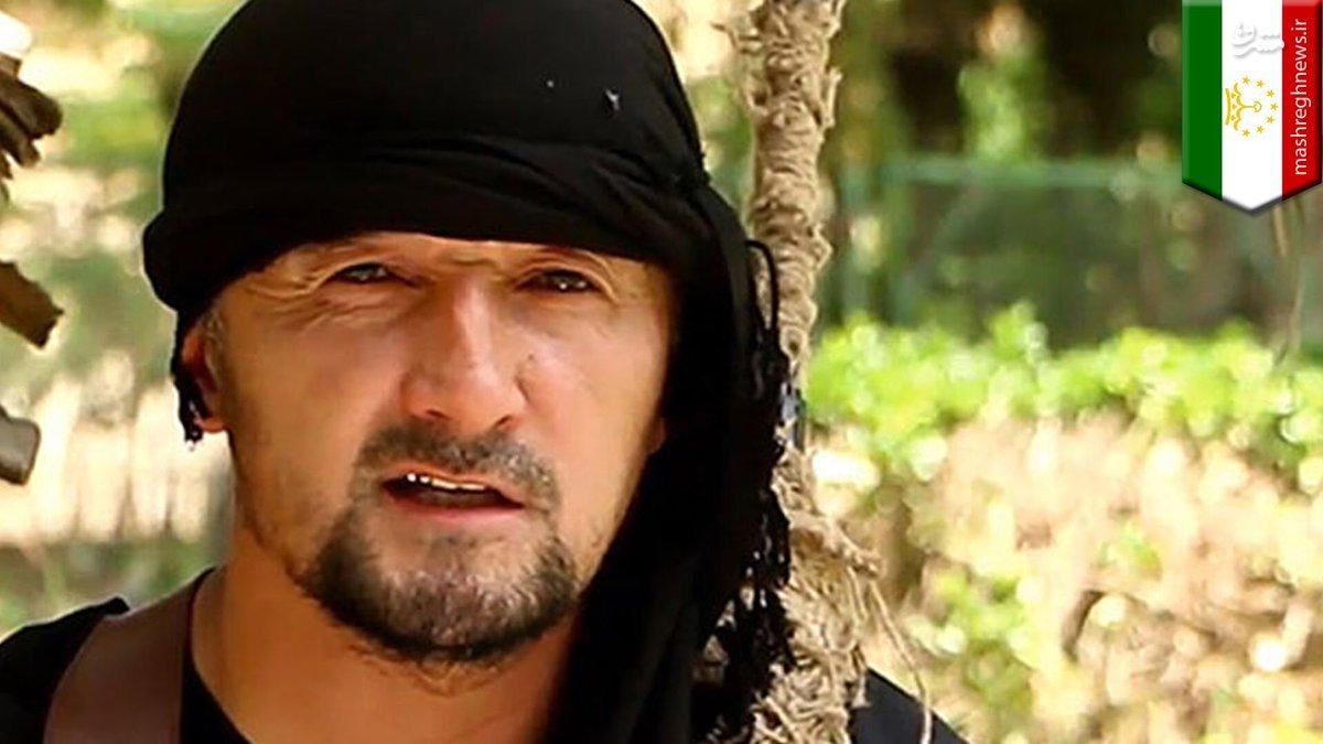 جایزه میلیون دلاری آمریکا برای فرمانده تاجیک داعش+عکس