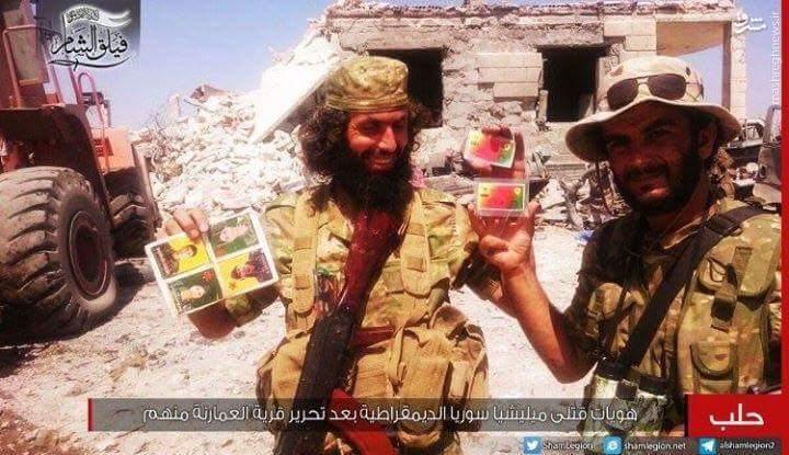 استفاده ترکیه از عناصر داعش برای سرکوب کردها+عکس