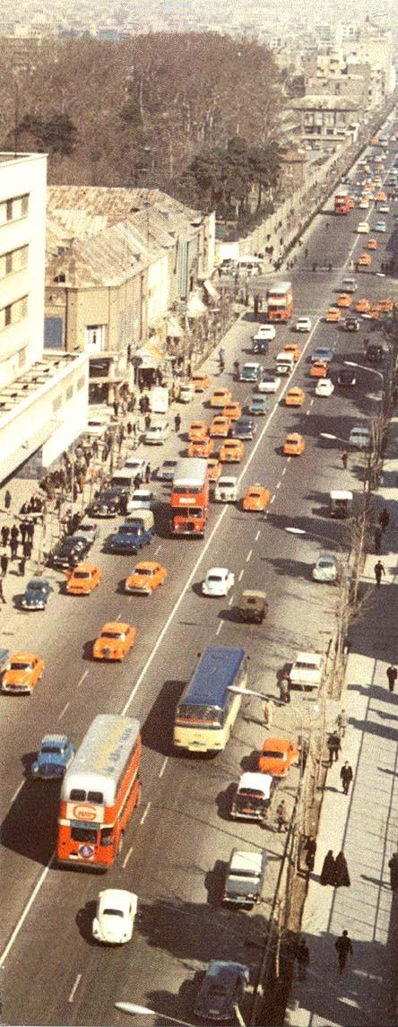 عکس/ خیابان فردوسی در دهه 40 شمسی
