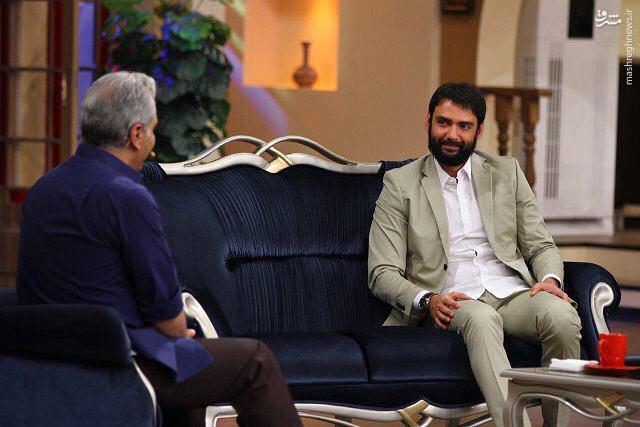 عکس/ بازیگر کلاه پهلوی مهمان امشب «دورهمي»