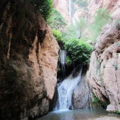 عکس/ آبشار 180متری پیران
