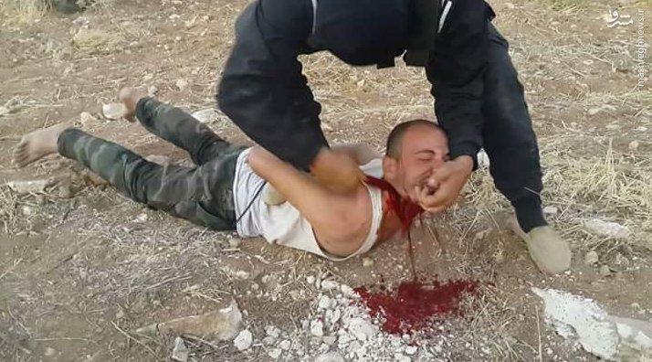 ذبح دو سرباز سوری توسط تروریستهای قفقازی