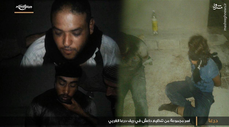 دستگیری تیم ترور داعش در درعای سوریه+عکس