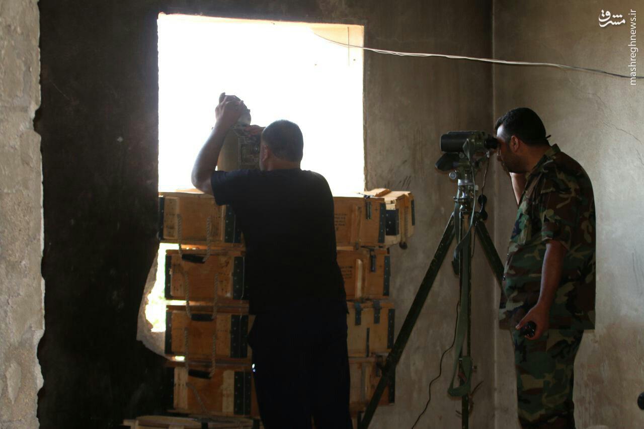 دانشکده نظامی حلب پس از سیطره ارتش+عکس