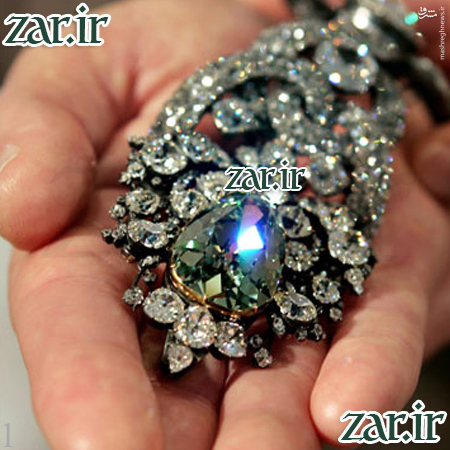 بزرگترین الماس سبز جهان +تصاویر