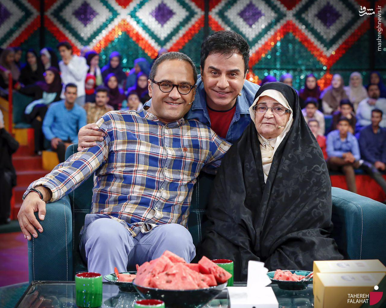 عکس/ مجری معروف تلویزیون امشب در «خندوانه»