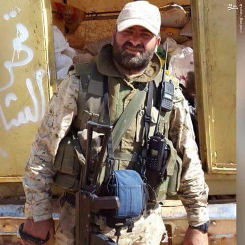 شهادت فرمانده میدانی حزب الله در سوریه+عکس