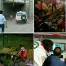 قالیباف در محل حادثه مترو حضور یافت/ ۳ نفر کشته و ۱۵ نفر مجروح شدند/ علت حادثه مشخص شد +عکس