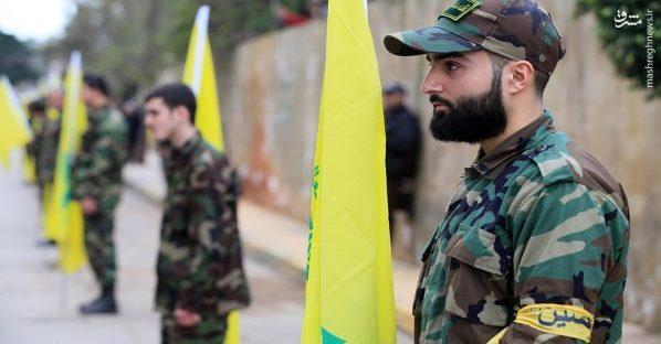 تشییع پیکر فرمانده شهید حزب الله در لبنان+عکس