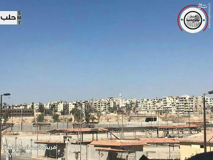 سیطره ارتش سوریه بر راموسه/شکست هجوم تروریستهای محاصره شده به حی العامریه/خیز مدافعان حرم برای بازپس گیری خان طومان/ارتش سوریه به تروریستهای حلب تسلیم شوید/الجبیر اتش بس بدهید!
