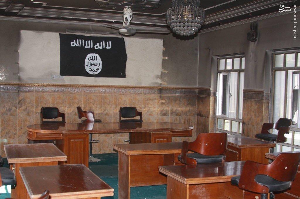 محکمه به اصطلاح شرعی داعش در فلوجه+عکس