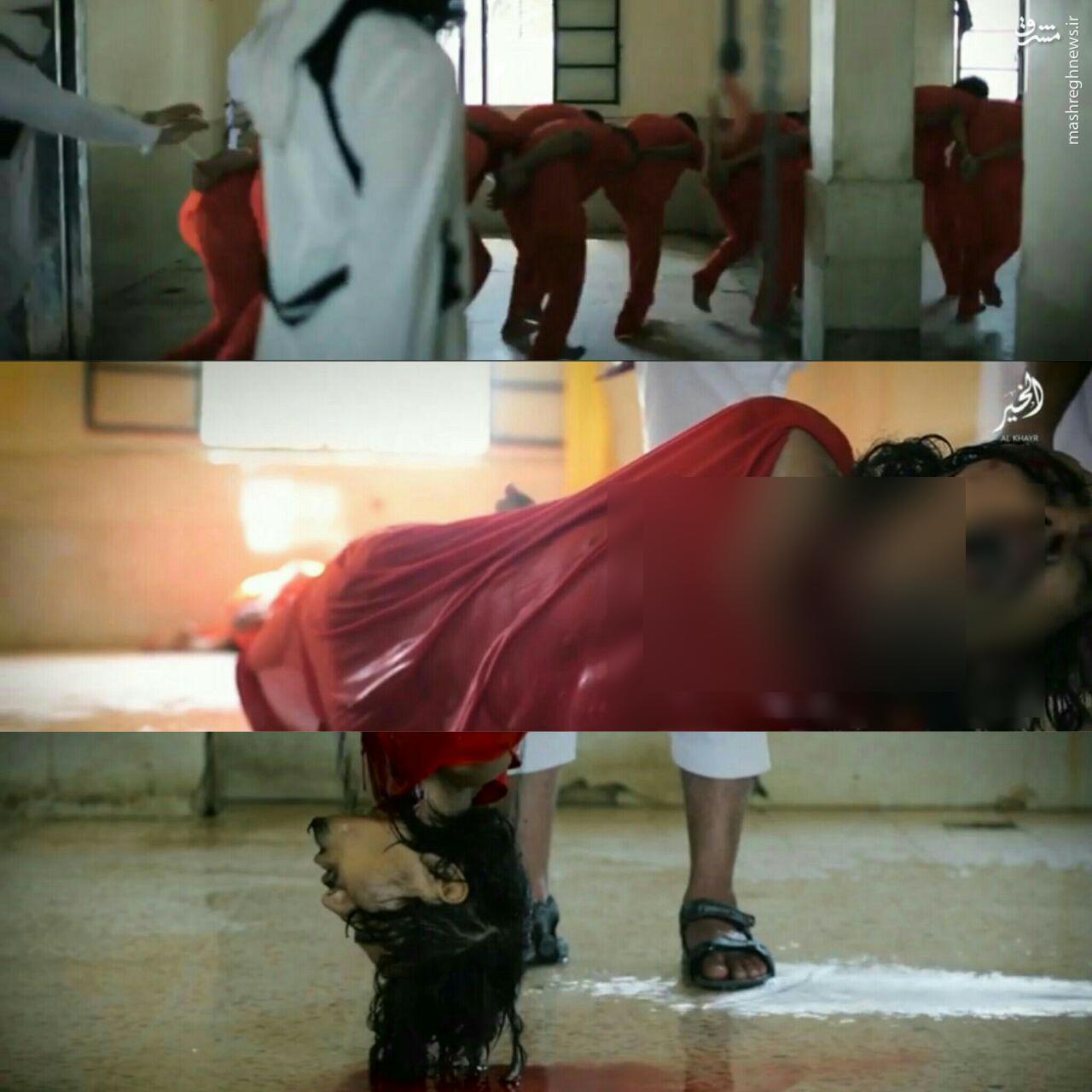داعش 12 نفر را سلاخی کرد+عکس 18+