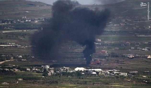 حملات هوایی پی در پی اسراییل به سوریه