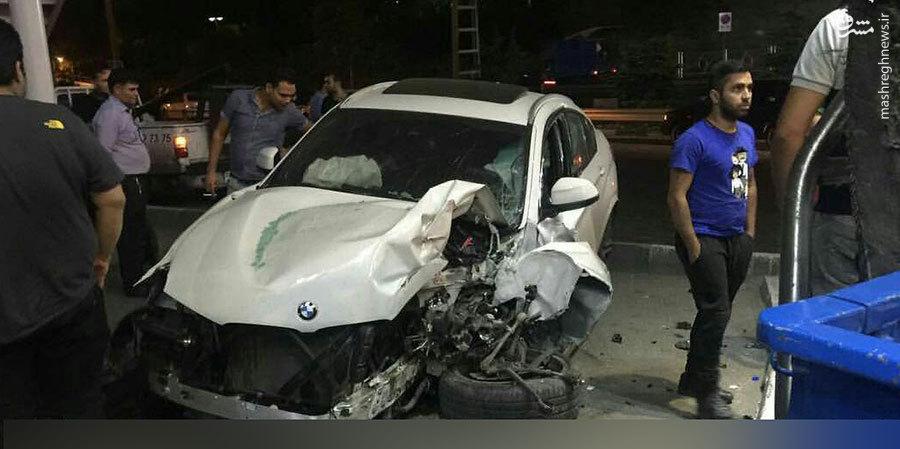 عکس/ تصادف شدید X4 در تهران