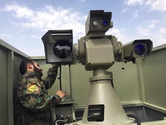 تحویل سامانه رصد اپتیکال ایرانی به عراق+عکس