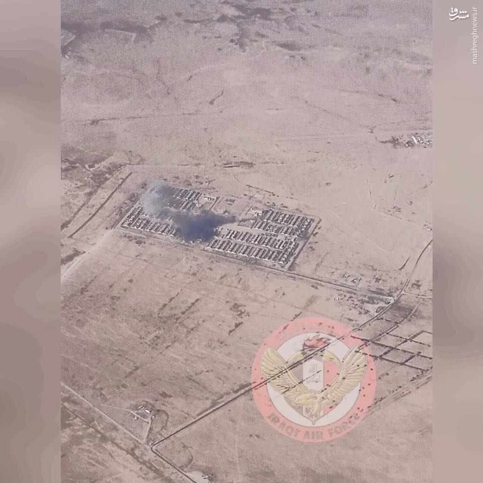 بازپس گیری پایگاه عکاشات داعش توسط ارتش عراق+عکس