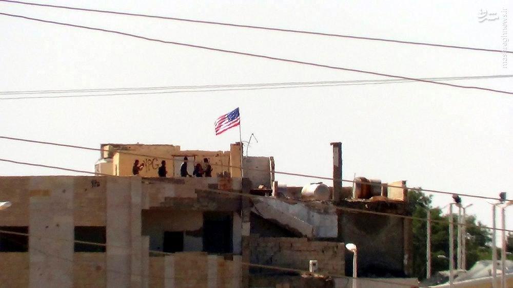 گشت زنی نظامیان آمریکایی و انگلیسی در تل ابیض سوریه+عکس و فیلم