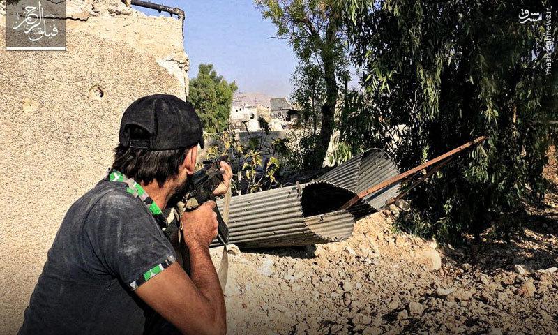 تشدید حملات تروریستها به شرق دمشق+عکس و نقشه