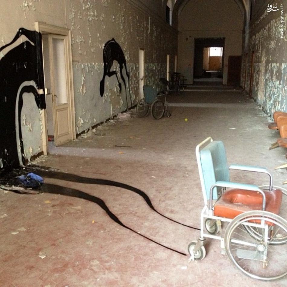 بیمارستان بیماران مبتلا به بیماری روانی در شرق ساسکس در انگلستا