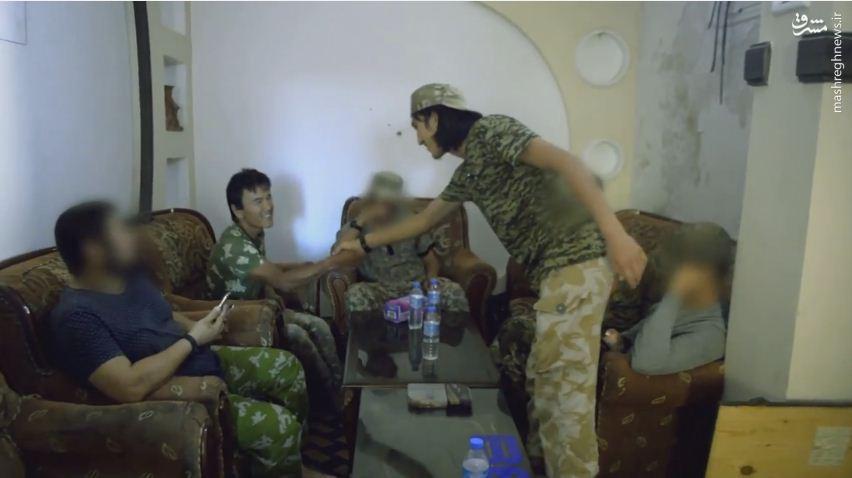 استقرار گردان ازبکستانیهای القاعده در حلب+عکس