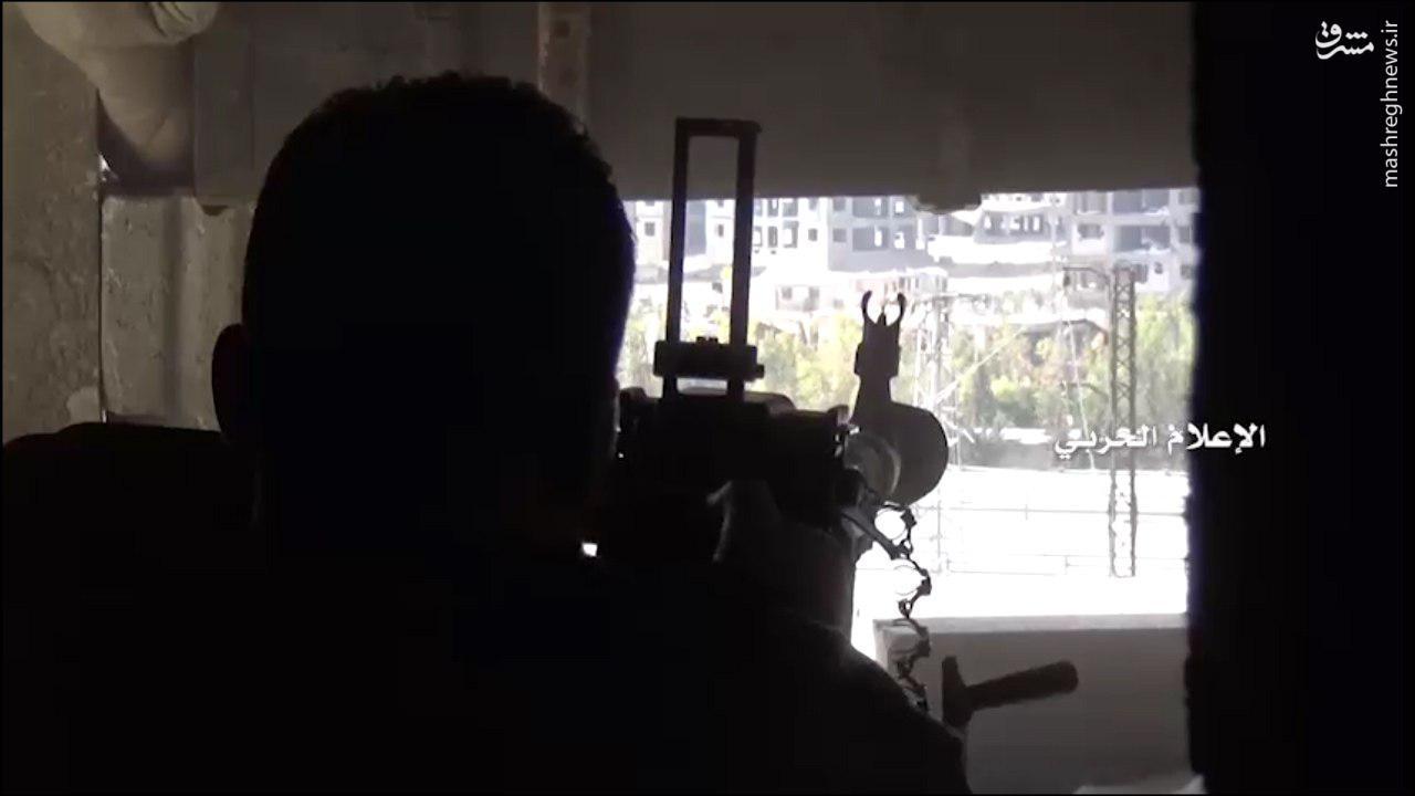 نبردهای جبهه جنوب حلب به روایت حزب الله+فیلم و عکس