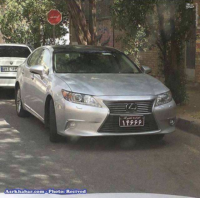 عکس/ آبرو ریزی برای خودروی لوکس در ایران!