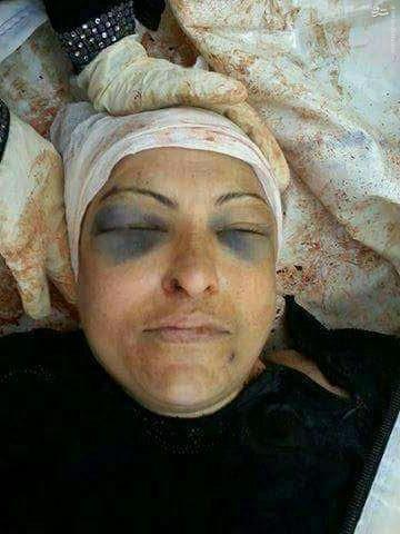 اعدام مادر سرباز ارتش سوریه در ادلب+عکس