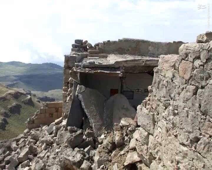 انهدام مسجد باستانی یمن در حمله هوایی عربستان+عکس