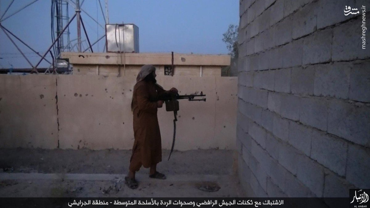 حملات پراکنده داعش به شمال رمادی+عکس