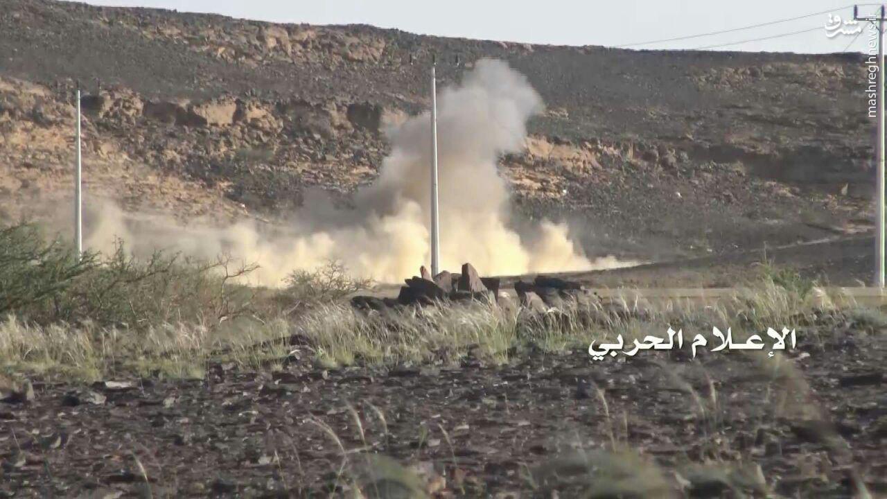 استفاده رزمندگان یمنی از موشک ضد زره دراگون+عکس
