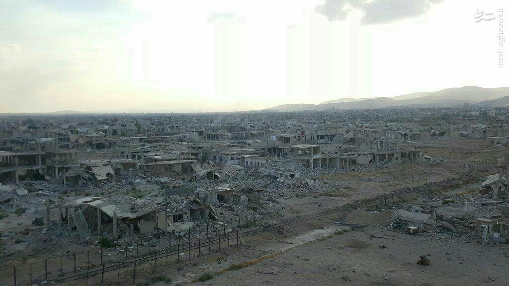 آخرین جفتک پرانی های تروریستها برای بقا در داریای دمشق+عکس