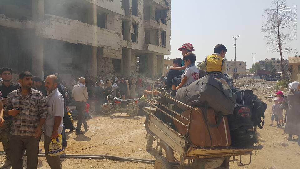 اهمیت آزادسازی داریای دمشق+فیلم و عکس
