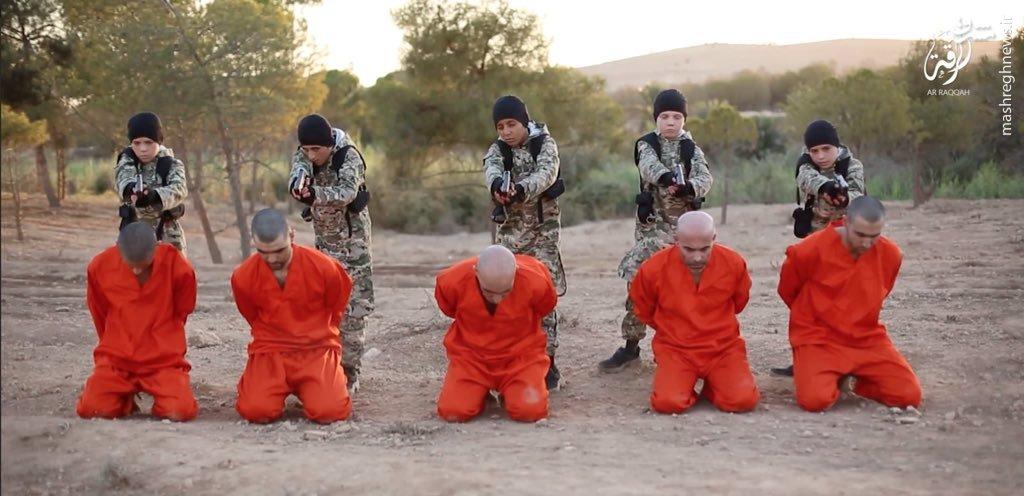 اعدام 14 نفر توسط سه گروه سنی داعش در رقه