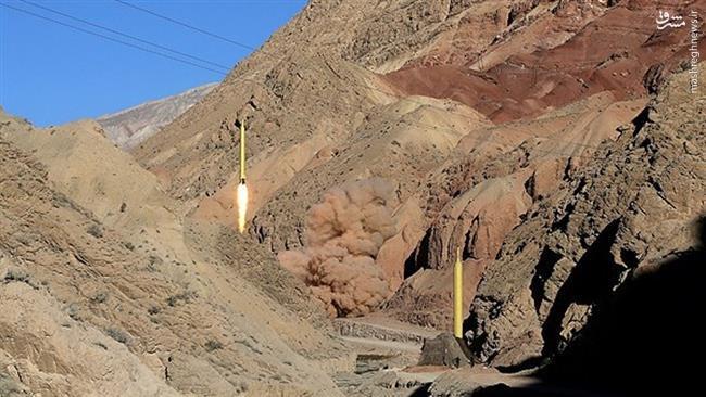 شلیک موشک بالستیک ایران