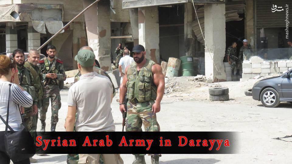 درگیری ارتش ترکیه با کردها در شمال سوریه/پاکسازی داریای دمشق از تروریستهای تکفیری/شکست حملات القاعده و ارتش آزاد به جنوب حلب