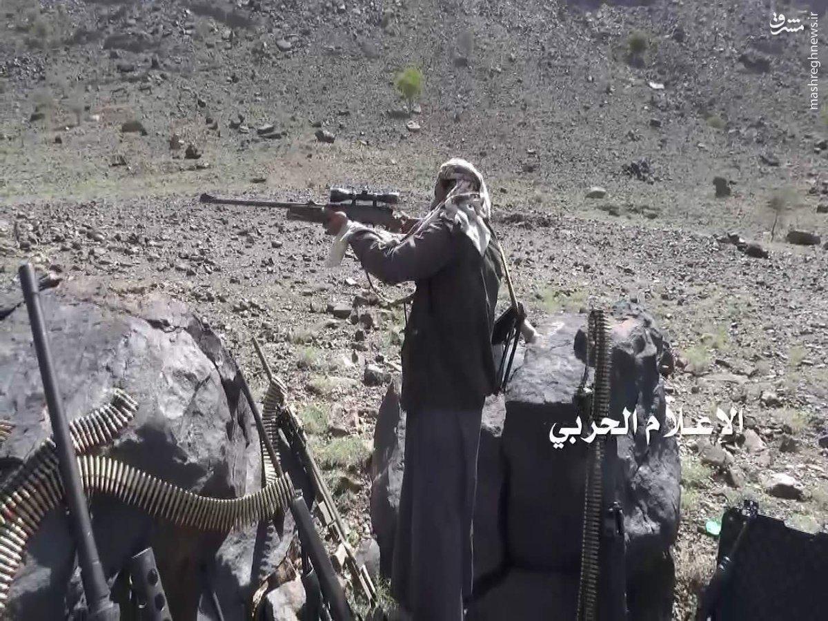 غنائم انصارالله از نظامیان سعودی+عکس