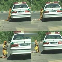عکس/ پلیس با معرفت تهرانی