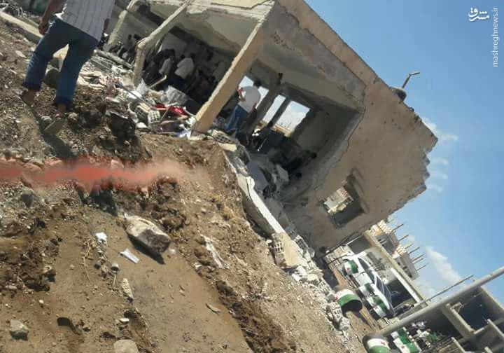 6 زخمی در حمله موشکی به کیلیس ترکیه+عکس