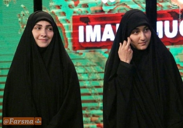 عکس/ دختر حاج قاسم سلیمانی و عماد مغنیه در یک جشنواره سینمایی