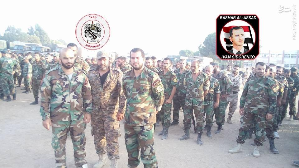 فارغ التحصیلی کماندوهای دریایی ارتش سوریه در لاذقیه+عکس