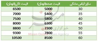 بازار پیراهن مشکی گرم شد+ قیمت