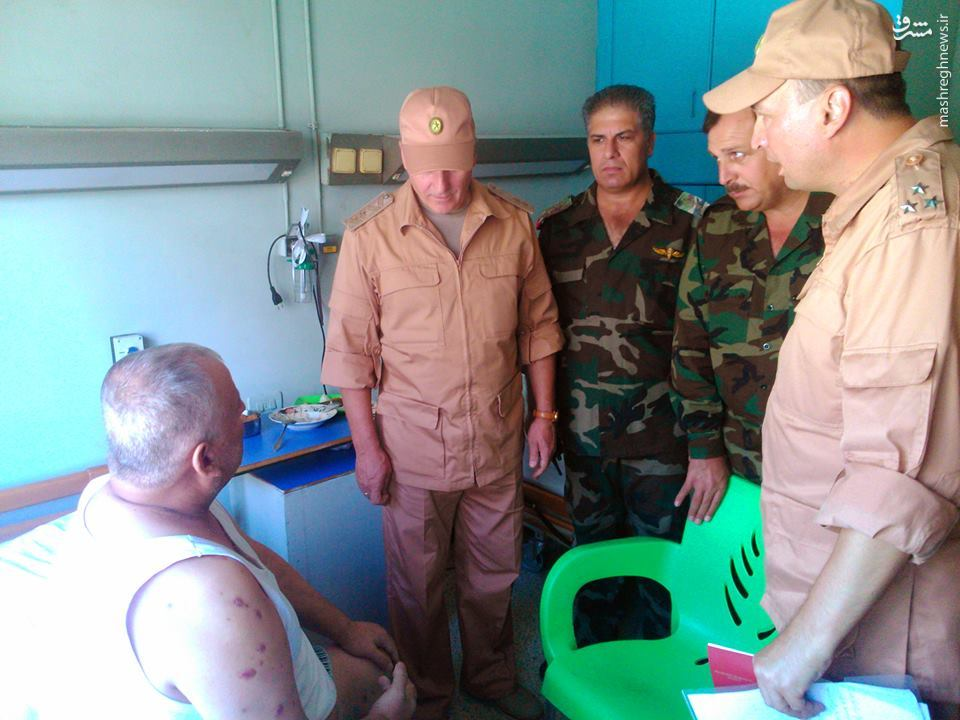 بازدید فرمانده کل نظامیان روس از بیمارستان نظامی لاذقیه+عکس