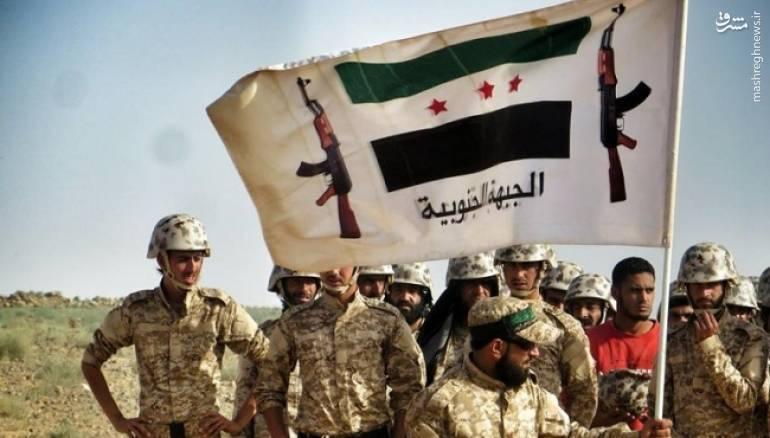 تحویل مرز سوریه با اردن به تروریستهای ارتش آزاد