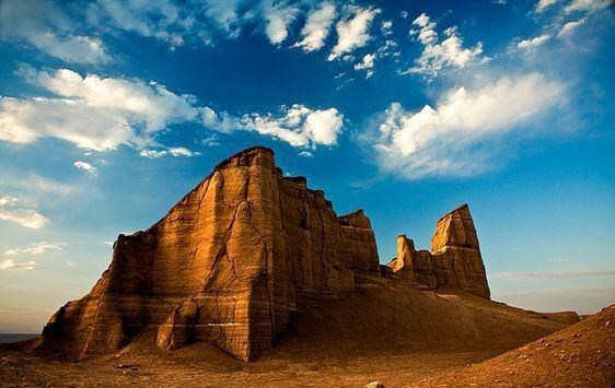 عکس/ نمایی زیبا از کویر شهداد کرمان