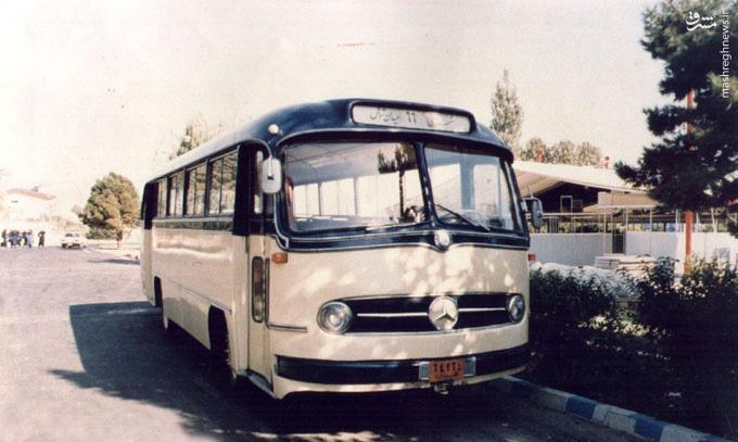 عکس/ اتوبوس های دهه ۱۳۴۰ در تهران