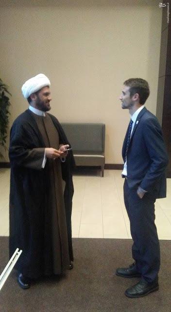 روحانی خبرساز لبنانی در میتینگ ترامپ کیست + تصاویر