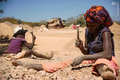 زیر صحرای آفریقا؛ زیر خط فقر + سند آماری و دانلود//آماده انتشار